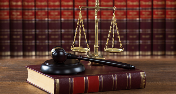Justice, Scales and Gavel