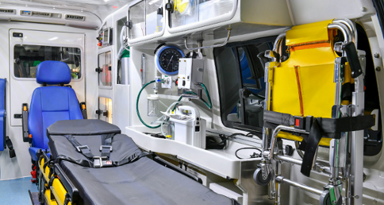 Ambulance, Interior