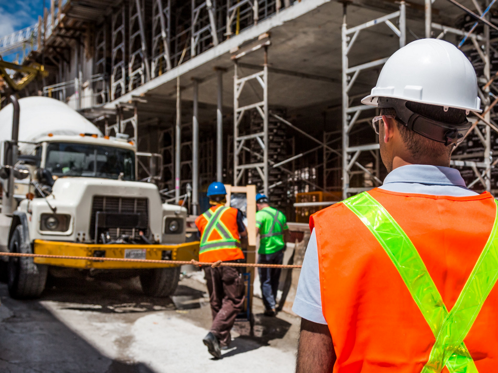 Construction, Work Site