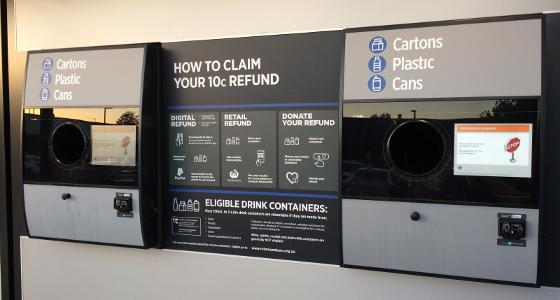 Container Deposit Machine