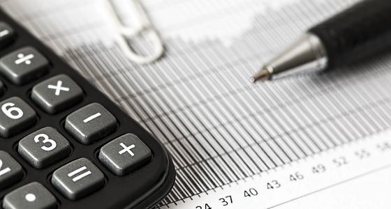 Economy, Finance, Calculator, Pen and Graph