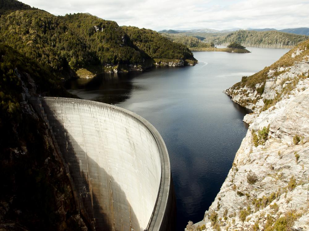 Gordon Dam, Hydro Tasmania