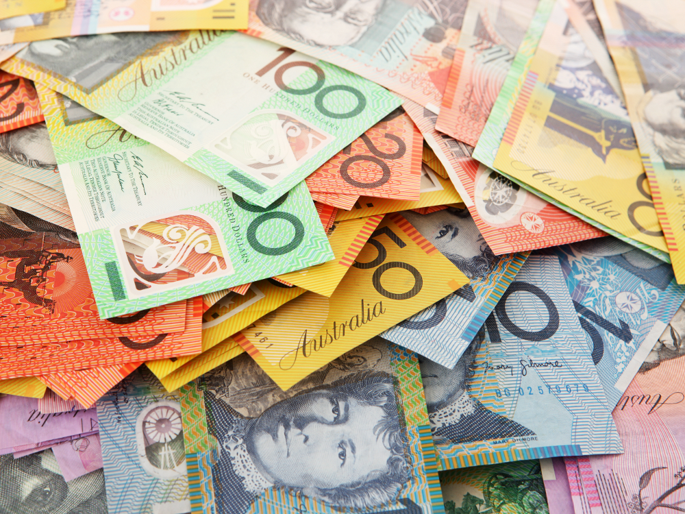 Money, Australian Dollars, Notes