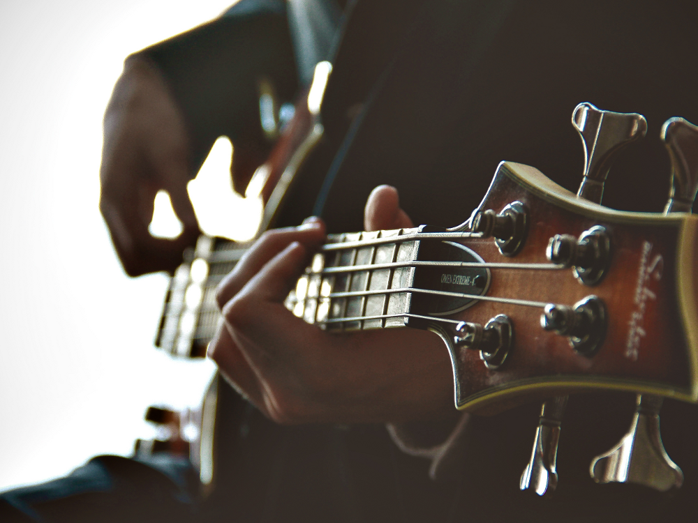 Music, Hands with Guitar