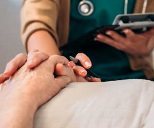Voluntary Assisted Dying, Hand on Hand