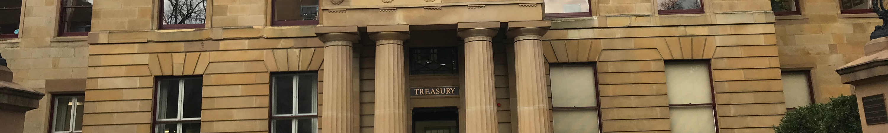 Heritage Treasury Building, Tasmania