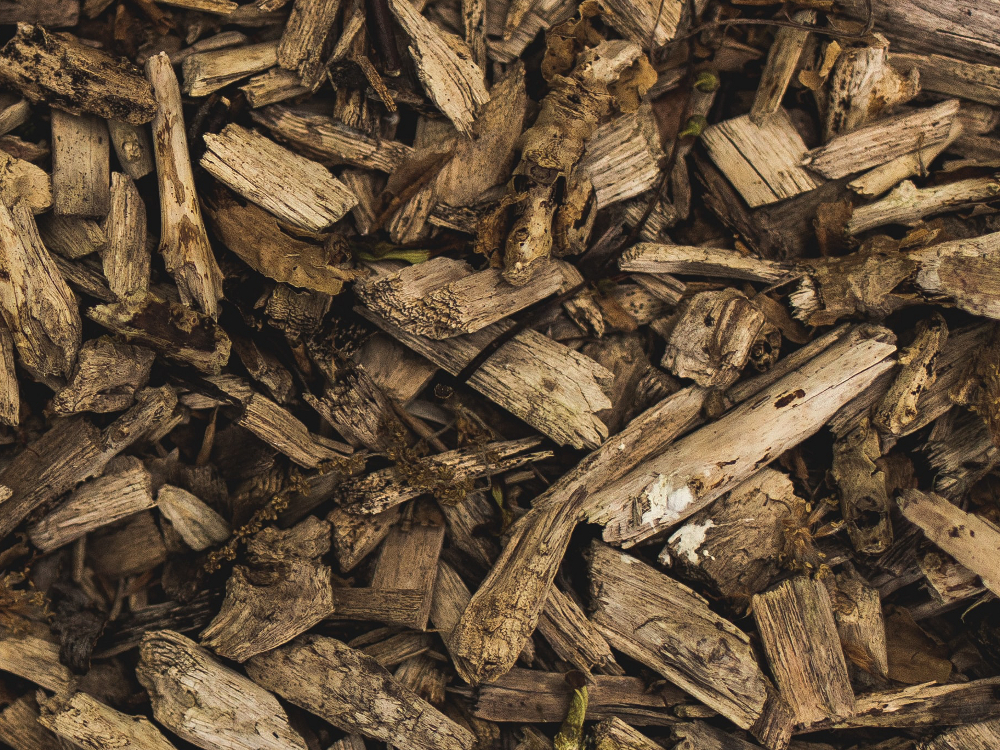 Pile of Woodchips